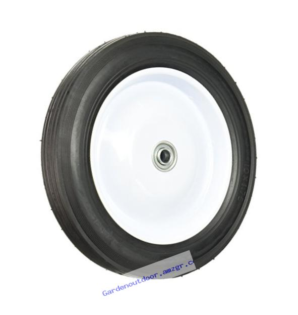 Maxpower 335190 10-Inch by 1-3/4-Inch Steel Centered Wheel