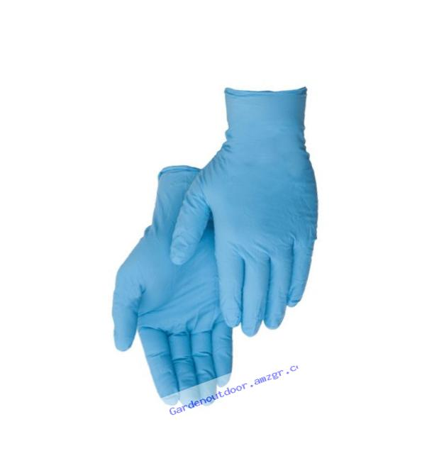 Liberty Glove ?�� Duraskin - T2010W Nitrile Industrial Glove, Powder Free, Disposable, 4 mil Thickness, X-Small, Blue (Box of 100)