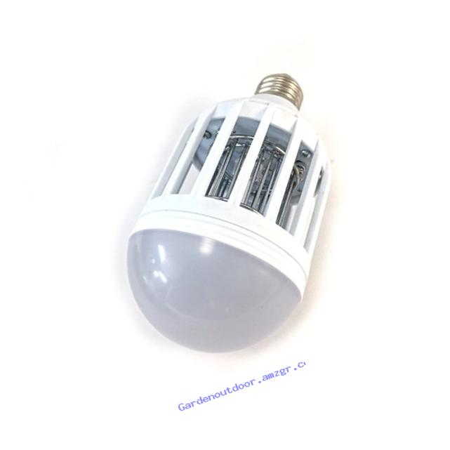 Bug Terminator Dual LED Mosquito And Bug Zapper Light Bulb, Fits 110V Fixtures