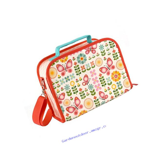 Petit Collage Insulated Lunch Box, Butterflies