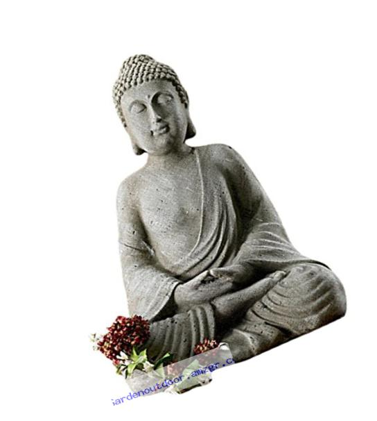 KINDWER Serene Meditating Buddha Statue, 20