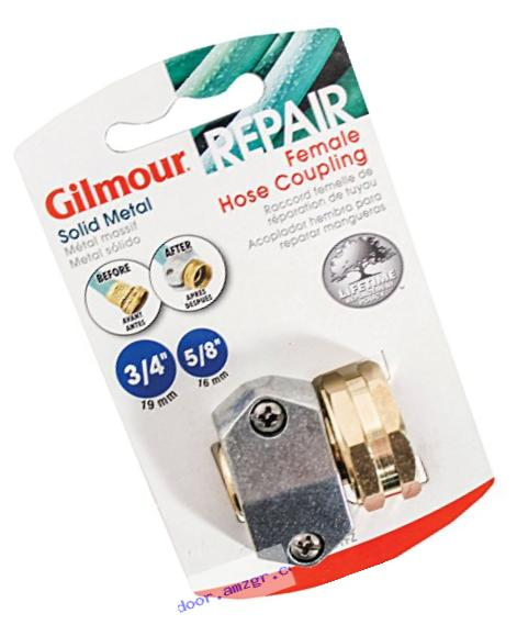 Gilmour Heavy Duty Zinc & Brass Female Clamp Coupling